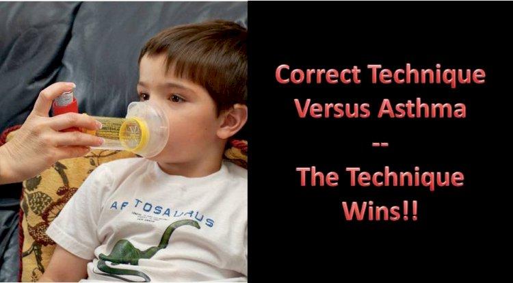 Correct Technique versus Asthma – The Technique Wins!!
