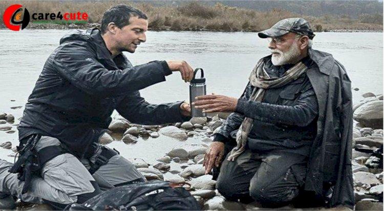 PM Modi with Bear Grylls in 'Man Vs Wild'