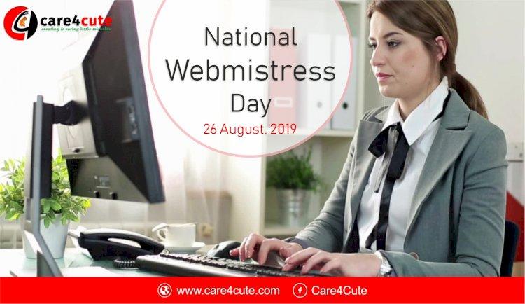 National Webmistress Day 2019