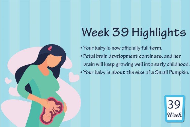 Pregnancy Week – 39