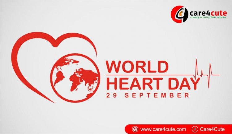 Sunday 29 September Marks As World Heart Day 2019