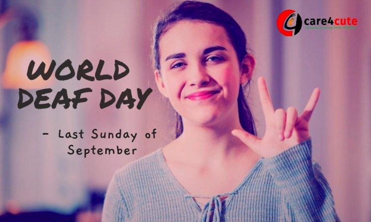 world deaf day 2019