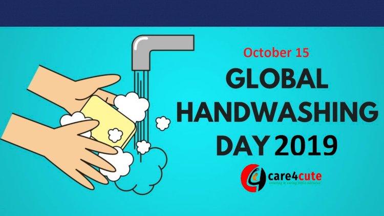 October 15 - Global Handwashing Day 2019