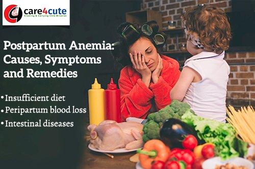 Postpartum Anemia: Causes, Symptoms and Remedies