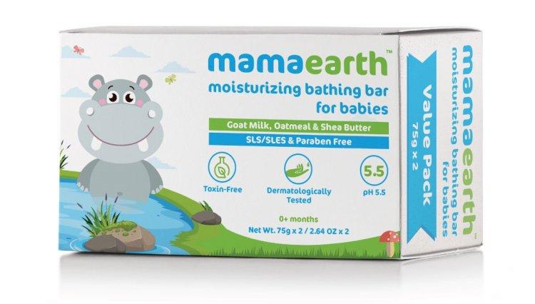 Mamaearth Moisturizing Baby Bathing Soap